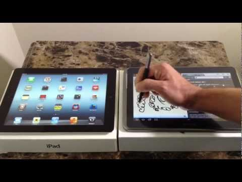 iPad 3 Vs Samsung Galaxy Note 10.1