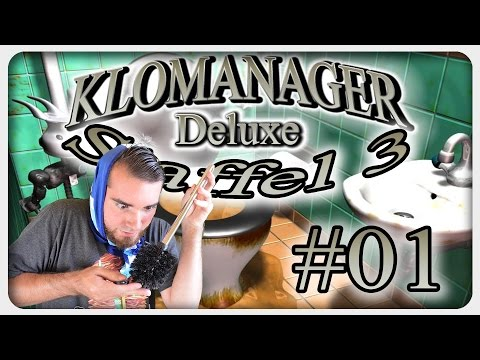 Lets Play KLOMANAGER STAFFEL 3 #01 German Walkthrough Gameplay ツ Kacke, Pisse, Kotze & Mr. Methan