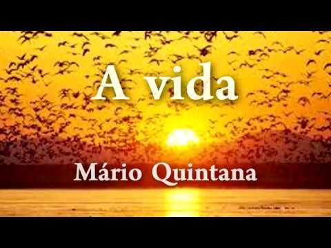 A vida - Mario Quintana - voz Celso Brasil