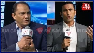 Younis Thankful To Azharuddin For His Advice | Salaam Cricket 2018 - AAJTAKTV