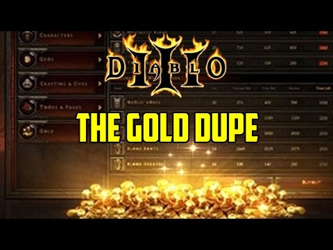 The Diablo 3 Gold Dupe