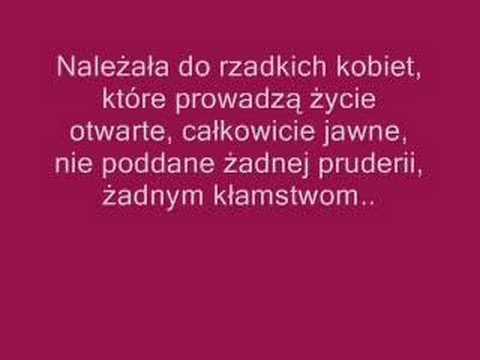 """Kalina Jędrusik, """"Bo we mnie jest seks"""""""