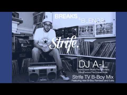 Strife Monthly Mix | Breaks and Blends | DJ A L