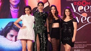 Kareena, Sonam, Swara & Shikha Make 'Veere Di Wedding' Music Launch A High On Fashion Event - ZOOMDEKHO