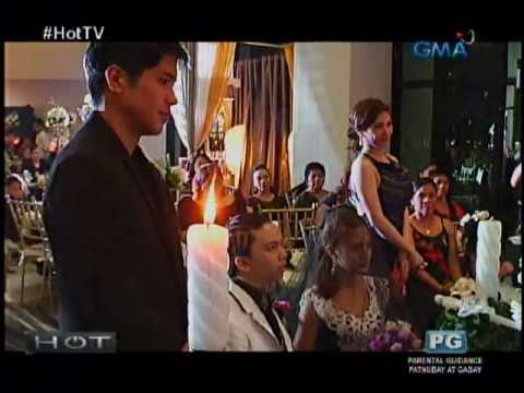 ROADFILL (of MOYMOY PALABOY) & FARAH LOPEZ's 'Zombie' Black Wedding - 12/12/12