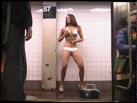 Banned Lavazza Espresso Commercial Subway Stripper