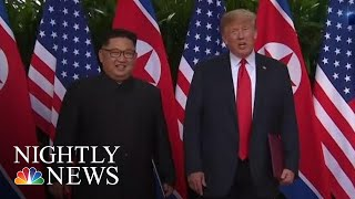 President Donald Trump And Kim Jong Un Will Meet For Second Summit Next Month | NBC Nightly News - NBCNEWS