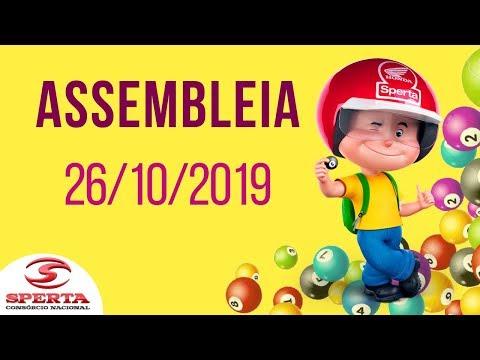 Sperta Consórcio - Assembleia - 26/10/2019