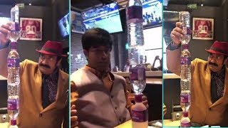 Vennela Kishore And Raghu Babu Having  Fun At Restaurant Video  | Tollywood Updates - RAJSHRITELUGU