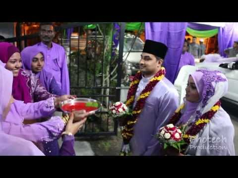 Sulaiman & Fazaria | Indian Muslim Wedding | Malam Inai-Nikkah-Reception Highlights |