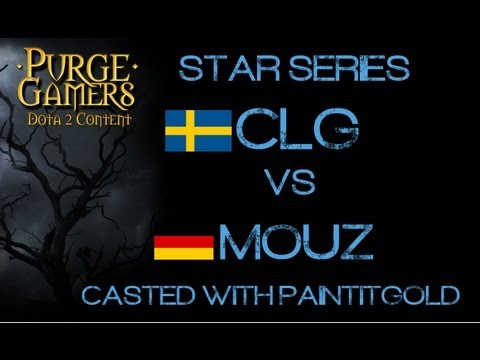 mouz vs CLG Star Series w/PAINTITGOLD