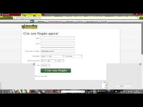 Video aula De como criar Um flogão