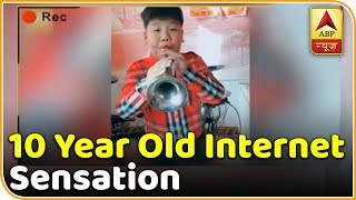 Wang's Musical Laughter Has Made Him A Social Media Star | ABP News - ABPNEWSTV
