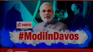 PM Modi to interact with 130 CEOs at World Economic Forums Annual Meet of 2018 in Davos - NEWSXLIVE