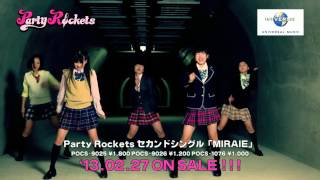 Party Rockets「MIRAIE」