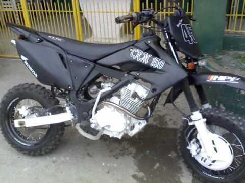 RUSI CRM150 MOTOR CUSTOMIZE