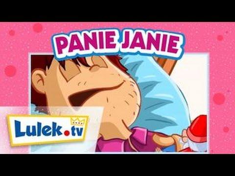 Piosenki dla dzieci. Panie Janie. Lulek.tv
