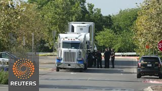 At least nine dead after dozens found inside Texas truck - REUTERSVIDEO