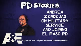 PD Stories Podcast: Andrea Zendejas on Her Military Service | A&E - AETV