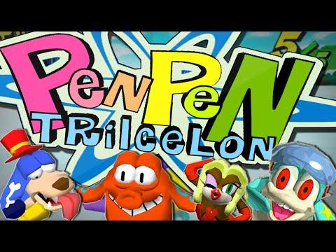 CUTE PENGUIN FOOTRACE   Pen Pen TriIcelon   TDM Plays
