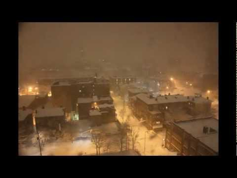 Blizzard 2013 Timelapse - New Haven, CT