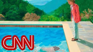 David Hockney painting sells for $90M, smashing auction records - CNN