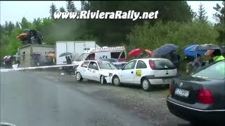 Vid�o Rally crash Valli del Bormida 2013 Melogno