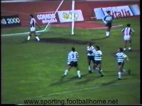 Nacional - 0 Sporting - 3 de 1988/1989 4ª eliminatoria Taça Portugal (repetição)