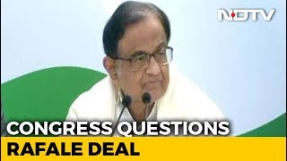 """Dassault Laughed All Way To Bank"": P Chidambaram's Dig On Rafale Deal - NDTV"