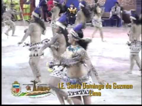 Danza: Fiesta a la Anaconda de la Etnia Bora - IE Santo Domingo de Guzman - Lima