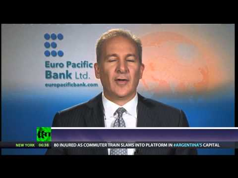 Peter Schiff: US lost ability to produce, can't live without debt