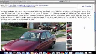 Craigslist Lincoln Ne Cars By Dealer