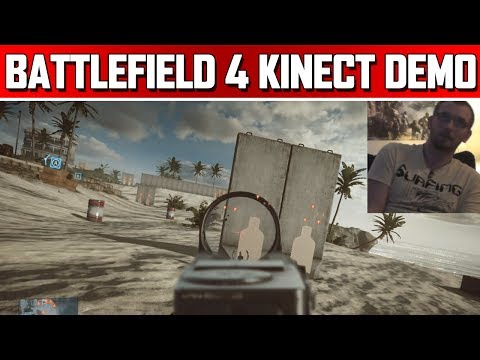 Battlefield 4 Kinect Features Demo: Xbox One