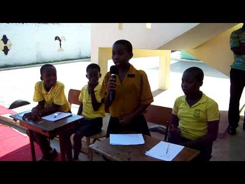 School Activities at Emmanuel School, Accra, Ghana - Quiz Show (Part 4)