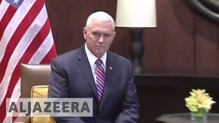 🇯🇴 Jordan's king tells Pence US 🇺🇸 must 'rebuild trust' - ALJAZEERAENGLISH