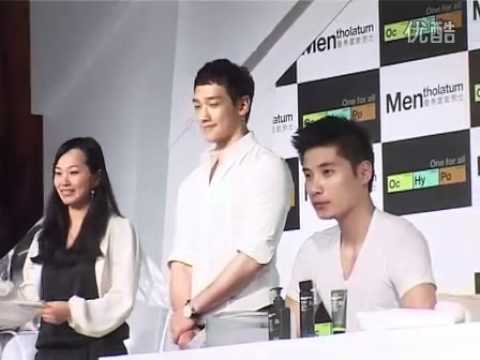 [Rain (Bi) Fancam]11-04-12 Rain @ Mentholatum press conference in Shanghai