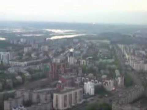 city - Ufa. near the sky.