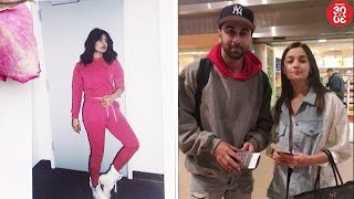 Priyanka's Pink Outfit Pic Goes Viral | Alia Breaks Her Silence On Link-Up Rumours With Ranbir - ZOOMDEKHO