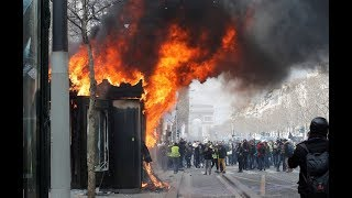 Yellow Vests protest in Paris, Act 18 (Part 3) - RUSSIATODAY
