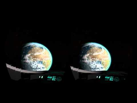 """Blue Marble"" in the Oculus Rift (Gary Jules - Mad World)"