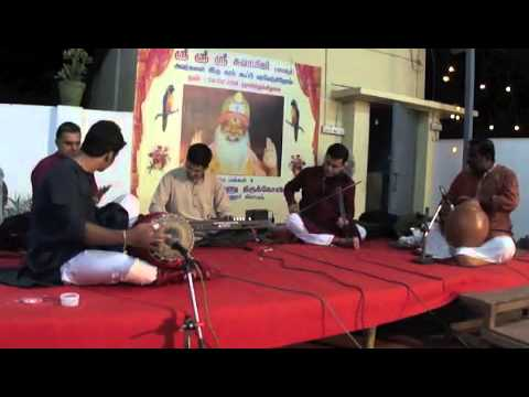 Paratpara in vachaspathi of Papanasam Sivan by Sathya & Team on Keyboard