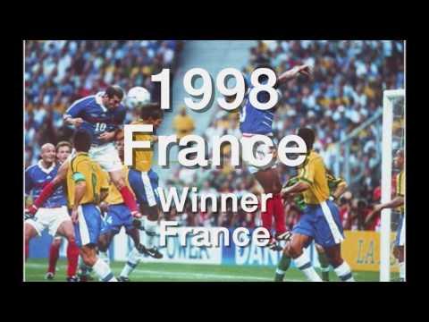 Verter ɤ vinnere VM * 1930 2010 *