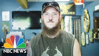 Former Skinhead David Cutlip Seeks Redemption By Covering Hateful Tattoos For Free | NBC News - NBCNEWS