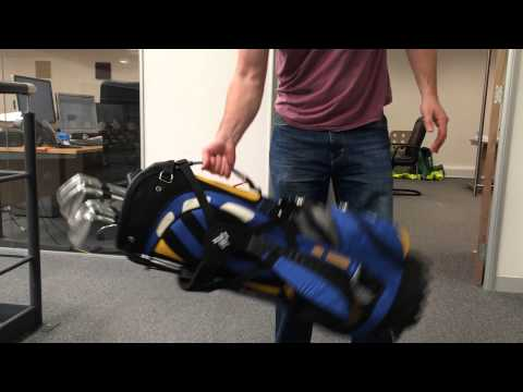 The Amazing Lynx LSX Golf Bag