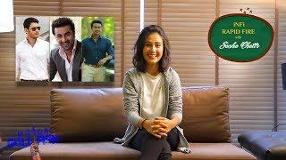 Sasha Chettri On Vijay Devarakonda, Ranbir Kapoor, Samantha, Surya & Many More  #OperationGoldFish - IGTELUGU