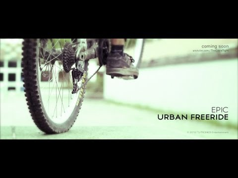 Epic Urban Freeride: Bike Slowmotion - Canon 550d (Twixtor) Red Bull