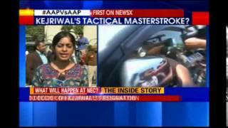AAP's National Council Meet begans in Delhi - NEWSXLIVE