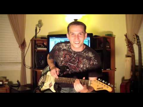 Modern Metal Djent Metalcore Tutorial 2012 (with example song)