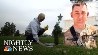 Global War On Terror Memorial Honors U.S. Soldiers | NBC Nightly News - NBCNEWS