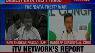 Can Rahul Gandhi  now deny this link? Biggest data theft fraud - NEWSXLIVE